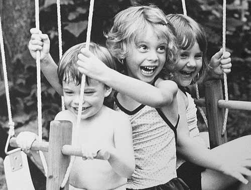 Kids On Swing ~ Image 9